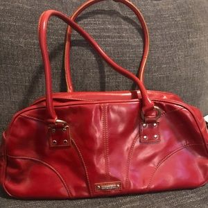 XOXO Red Leather Purse